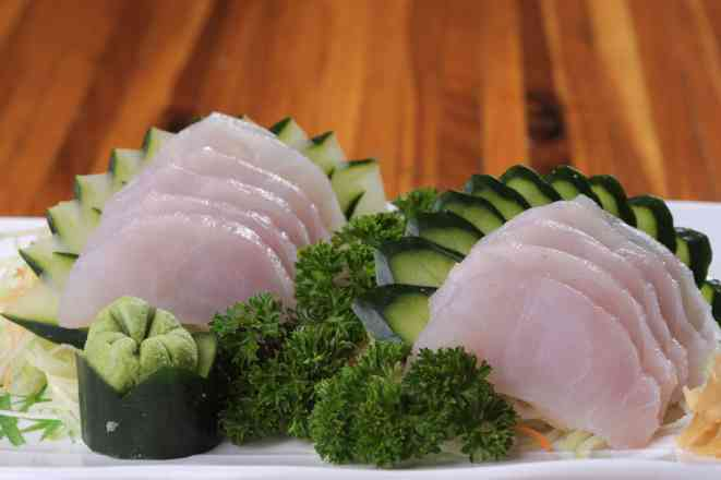 Sashimi Peixe branco - 10 Fatias