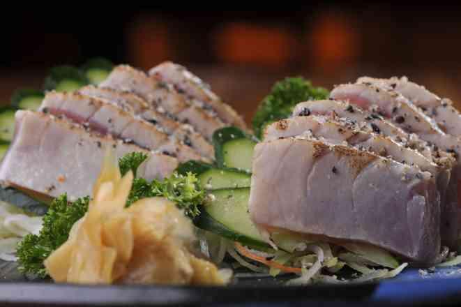 Sashimi Tuna Grill  - 10 Fatias