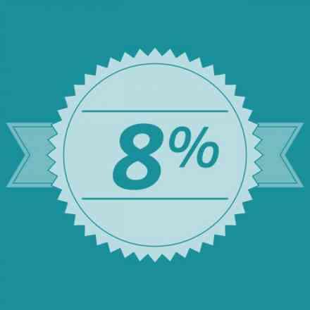 Complete seu pedido e ganhe desconto de 8% em todos os produtos comprados, o desconto irá aparecer ao finalizar o pedido.