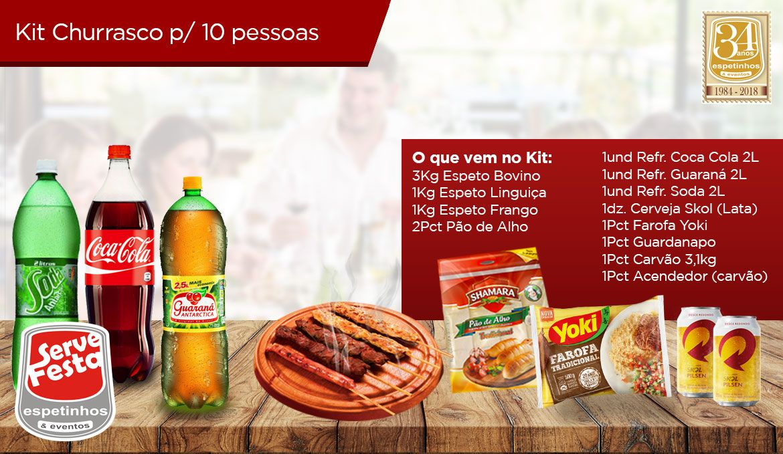 Kit Churrasco - 10 Pessoas